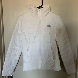 Brand new white North Face Harway Jacket.